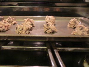 Balled Cookies Ready to Go into the Oven