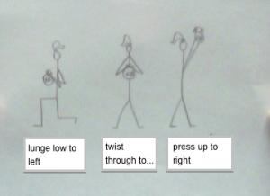 lunge press